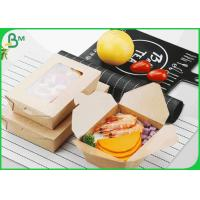 FSC Supported 250g 325g 365g Coated Kraft Paper Board For Food Box