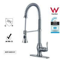 Quality Sanitary Ware Singe Handle kitchen Faucet with Pull out Tap ODM / OEM wholesale
