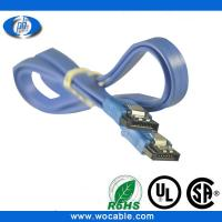 Quality Good quality 7 pin 180/180 degree sata cable made in China wholesale