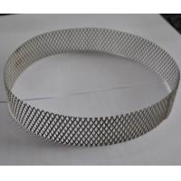 Quality 304 Stainless Steel Wire Expanded Mesh Circle As Filter , Metal Mesh Type wholesale