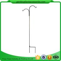 Quality Tall Garden Plant Accessories 48 Inch Double Shepherd'S Hook Plant Hanger wholesale