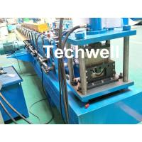 Quality Customized Half Round Gutter Roll Forming Machine For Making Rainwater Gutter & Box Gutter wholesale