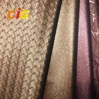Quality Decorative Soft Guality Polyurethane Pu PVC Leather For Sofa Car Seat Cover wholesale