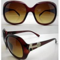 Quality Brown Lens Plastic Frame Sunglasses , 400UV Protection CE wholesale