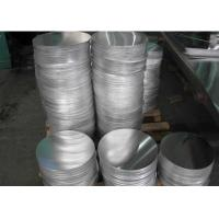 Quality 1100 Grade Cookware Aluminum Circles , Utensils Aluminium Circle Plate wholesale