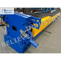 Quality 10 - 15 M/Min Downspout Roll Forming Machine For 100*80 120*100 Rectangle Profiles wholesale