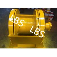Quality Low Noise 5 Ton 6 Ton 8 Ton Hydraulic Crane Winch With Lebus Sleeves wholesale