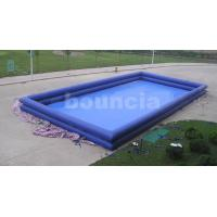 Quality 12mL*8mW*1.3mH Giant Inflatable Water Pool / Inflatabel Ball Pool wholesale