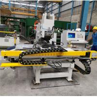 China Good Rigidity CNC Plate Punching Machine C - Type Plate Welding Frame for sale