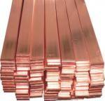 China Copper Clad Steel Copper Flat Bar Ground Tape For Earthing 20*2mm / 25*3mm on sale