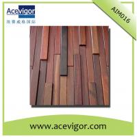 Quality Rectangle wall mosaic tiles with uneven surface for interior wall decoration wholesale