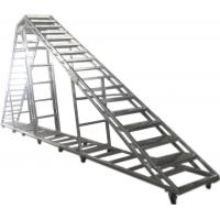 Quality Splice / Burliness Aluminum Walking Stair , Portable Stage Platform For Art House wholesale