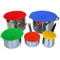Quality Food Fresh Silicone Cooking Lids For Bowls , Eco - Friendly Silicone Cup Lids wholesale