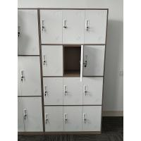 Quality KD structure 12 door metal privacy locker two tone color H1850XW900XD400mm wholesale