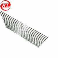 China Sliver Picnic Cooking 8mm 304 Stainless Steel Grill Grates on sale