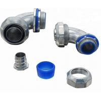 Cheap UL Listed Electrical Conduit Fittings Liquid Tight Conduit Connectors 90 Degree for sale