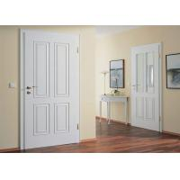 China Modern Wood Door Design MDF Internal Door MDF Wood Bedroom Door on sale