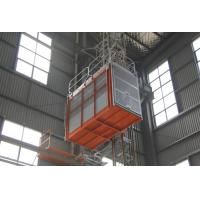 Cheap 3.2×1.5×2.2 Cage Construction Lifts FC Control Automatical Landing ABB Moter for sale