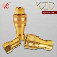 China Medium Pressure Pressure and Brass Material Push Fit Ball Valve on sale
