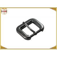 Quality Gunmetal Cinch Metal Bag Buckle Hardware , Zinc Alloy Handbag Metal Fittings wholesale