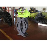 Buy cheap Single Cylinder Hydraulic Grapple Attachment 360° Rotation Excellent Grasping Ability from wholesalers