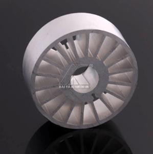 China 6063 T5 Aluminium Heatsink Extrusion , Extruded Heat Sink Profiles Factory Type on sale