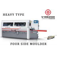 Buy cheap 6 Head Four Sided Wood Planer , Industrial Wood Molding Machine For Wooden House from wholesalers