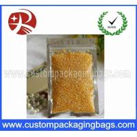 Buy cheap Re Sealable Plastic Ziplock Bags Food Packing Eco-Friendly for stationery product