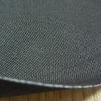 China 0.7mm Black Fire Retardant Neoprene Rubber Coated Fabric on sale