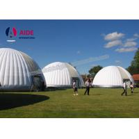 Cheap 15M Giant Inflatable Tent , Outdoor Big Dome Inflatable Tents For Camping for sale