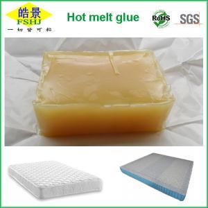 Quality Thermoplastic EVA Hot Melt Glue For Bed Mattress , Foam Sofa Hot Melt Adhesive wholesale