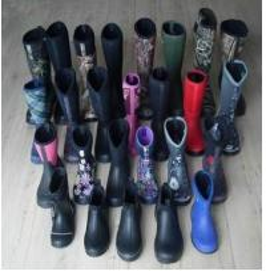 Quality New Fashion Neoprene Rubber Rain Boots, Neoprene Boots, Neoprene Rain Boots wholesale