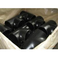 China A234 WPB Carbon Steel Pipe Tee , Metal Pipe Fittings Butt Welding Design on sale