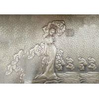 Quality Fairy Bronze Relief Sculpture Ancient Style Metal Wall Art Corrosion Stability wholesale