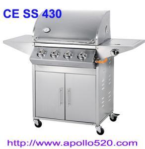 Quality Patio Braai Gas Grill 4 burner wholesale
