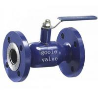 China Flange fully welded ball valve on sale