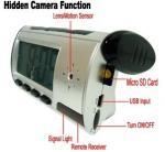 Quality Home Security Mini Alarm Clock DVR Spy Hidden Surveillance Camera Audio Video Recorder wholesale