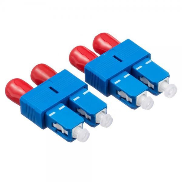 Cheap SC male FC female fiber optic adapter,singlemode duplex/simplex Hybrid Fiber connector for sale