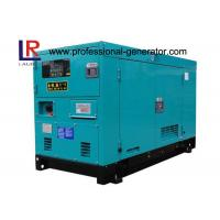Buy cheap 3 Phase 12.5KVA Silent Diesel Generator Set with Stamford Alternator , 1500RPM Perkins Engine from wholesalers