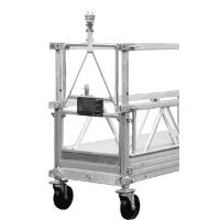 Cheap Window Cleaning Machine Powered Suspended Access Platforms 800kg - 1200kg for sale