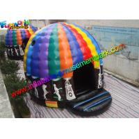 Quality Crazy Air Music Commercial Bouncy Castles For Dancing Customized wholesale