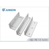 China Alluminum Security Door Lock Bracket / Z Bracket For Magnetic Lock on sale