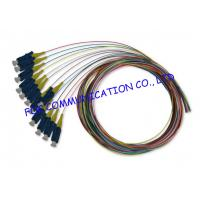 Quality SM And MM Multi Colors fiber optic pigtail cables OEM Available 12 Pack wholesale