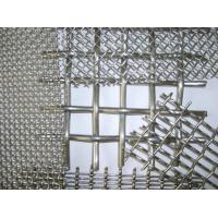 Cheap Stainless Steel Crimped Wire Mesh Barbecue Grill / Mine Screen 1-10mm Wire Gauge for sale
