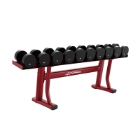 Quality Commercial Heavy Duty Gym Equipment Single Tier Dumbbell Rack For Sale wholesale