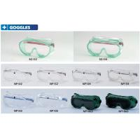 Quality Safety Goggles thickness 1mm or 1.5mm with CE,ANSI for impact,dust, UV resistance &anti frog wholesale
