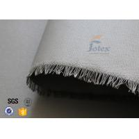 Quality 0.45mm PU Coated Fiberglass Fabric Cloth For Welding Spatter Sparks Protection wholesale