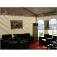 Fabic Roof  / Sidewall Waterproof Marquee Tents For Outdoor Events Opening Ceremony