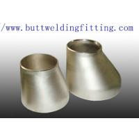 China Alloy 20 UNS N08020 Eccentric Reducer SCH STD Stainless Steel Pipe Fittings on sale