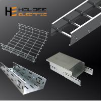 China High Quality Lucktech Textured Powder Coating Straight Small Wiring Duct Cable Tray Without Zinck Wisker Damage on sale